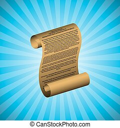 The first amendment on blue background with readable text