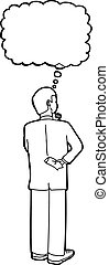 Outline of Businessman Thinking