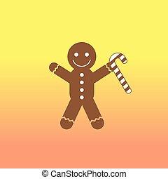 christmas cookies cartoon - vector christmas cookies cute...