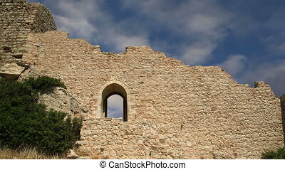 Castle of Kritinia in Rhodes, Greec