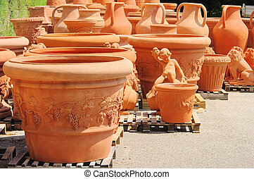Terrakottablumentopf - flower pot from terracotta 05