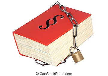 isolated statute book - protected statute book isolated