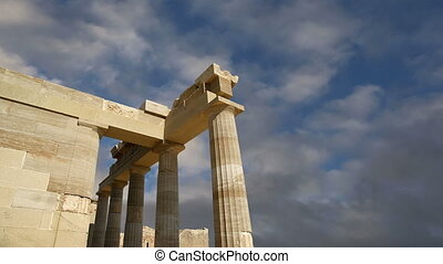 Apollo Temple,Rhodes, Greece - Apollo Temple at the...