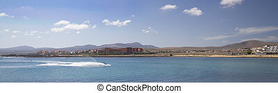 Fuerteventura Canary Islands spain beautiful Panoramic view