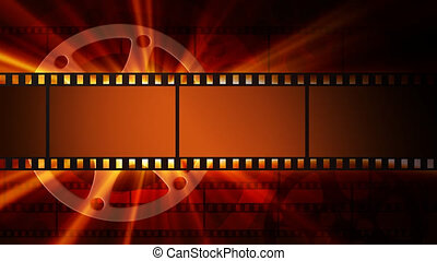 Films and film reel with shine