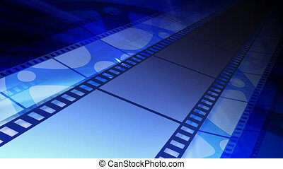 Cinema background - Film and film reel