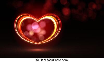 Vegas neon heart