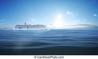 Cruise passenger ship