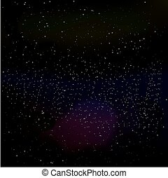 starry sky - vector illustration background of a starry sky