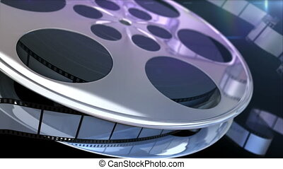 Film Reel - Spinning film reel