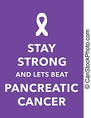 pancreatic cancer poster
