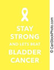 bladder cancer poster
