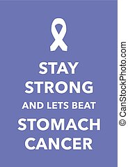 stomach cancer poster