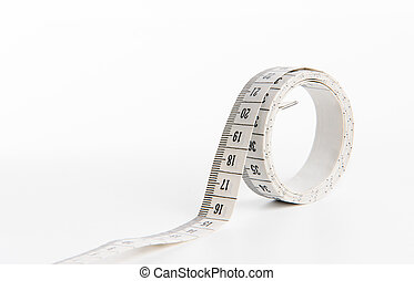 Metre isolated in a white background