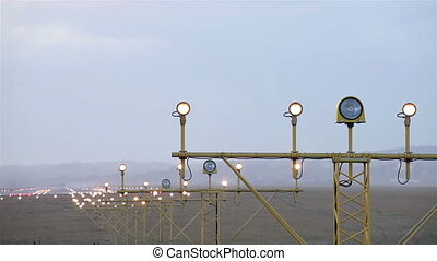 Airport lights - Airport navigation lights