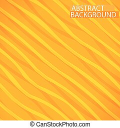 Abstract lines paper style background - Abstract yellow...