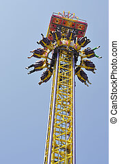 Amusement Ride - Stock photo of a ride in an amusement park