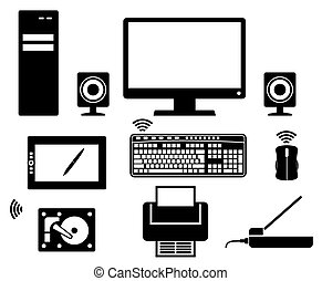 computer Icons vector black icon on white background