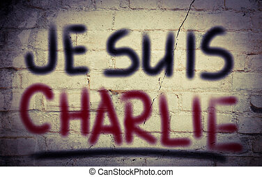 je, Suis, charlie, conceito,