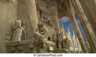 Sagrada Familia in Barcelona, Spain - Sagrada Familia by...