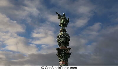 Chistopher Columbus monument. - Chistopher Columbus monument...