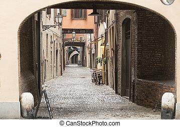Ferrara Italy - Ferrara Emilia-Romagna, Italy: typical...