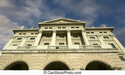 building of the military government - The building of the...