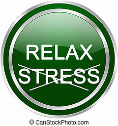 relax stress button