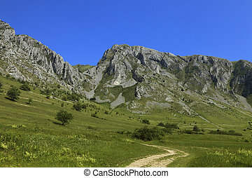 Trascau Mountains,Transylvania,Romania - Summer image with...