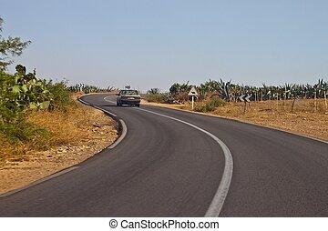 maroc, route
