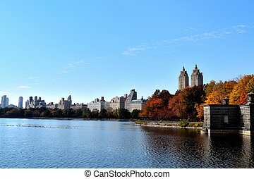Autum afternoon in Central Park