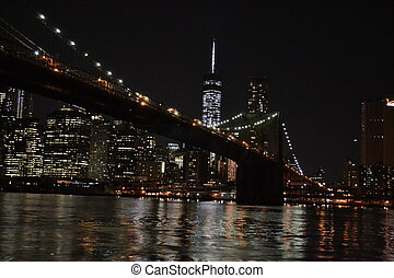 Night sight from Brooklyn - Photography of the Brooklyn...