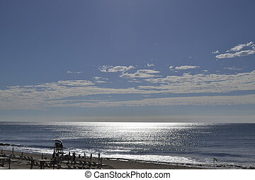 Morning by the Atlantic - Picture taken in Montauk on a...