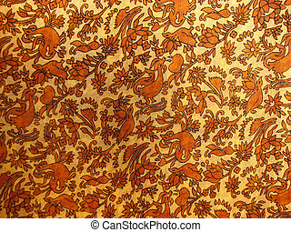 Ethnic Fabric Background