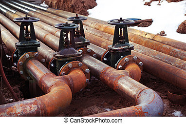 Oil and gas pipe line valves - Oil and gas pipe line and...