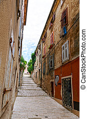 Narrow streets in Pula - Cozy and narrow streets in Pulas...