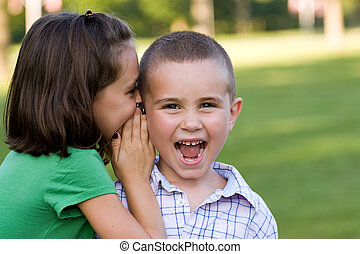 Kids Telling Secrets