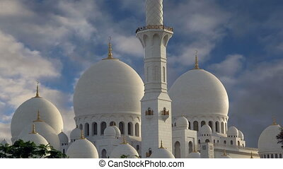 Abu Dhabi Sheikh Zayed White Mosque