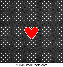 Valentine's day background with heart
