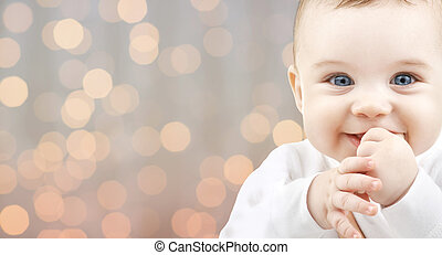 beautiful happy baby - children, people, infancy and age...