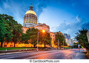 Georgia State Capitol Building in Atlanta, Georgia, USA