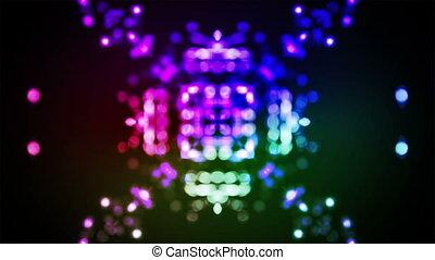 bokeh kaleidoscope flare