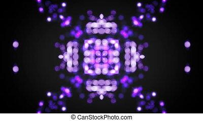 bokeh flare kaleidoscope