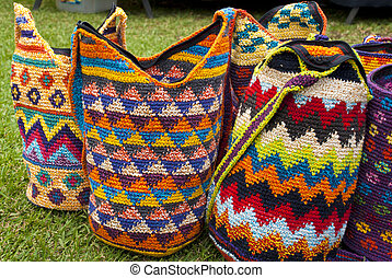 Fashion - Crochet Handbags
