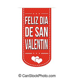 Happy valentine's day banner design - Happy valentine's day...