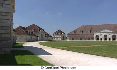 ARC-ET-SENANS Royal Saltworks - pan courtyard -...