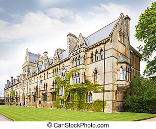 Christ Church College, Oxford, Oxfordshire UK - Famouse...