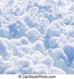 Snowballs background.
