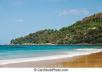 Karon beach on Phuket island, Thailand