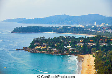 View at Kata Noi, Kata and Karon beach from Karon view point...